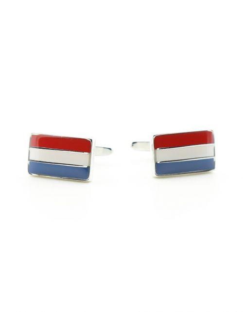 Manchetknopen Nederlandse Vlag