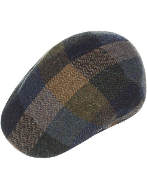 Jockey Cap Harris Tweed