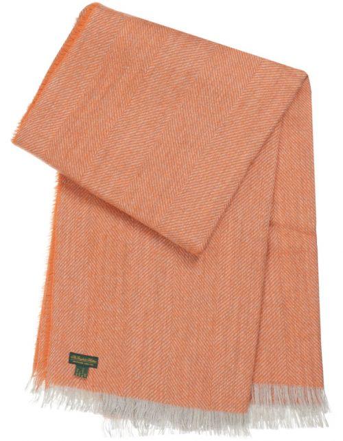 Plaid Wol Visgraat 130x170
