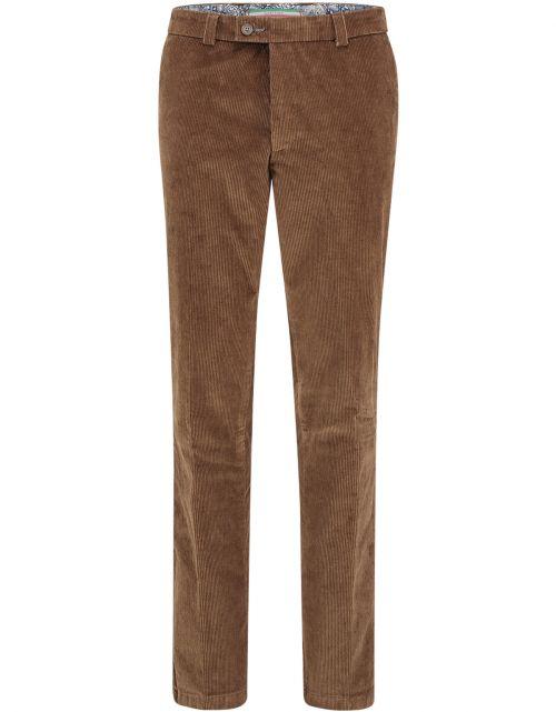 Corduroy pantalon brede rib
