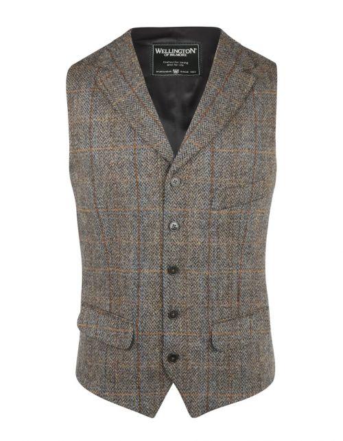 Gilet Harris Tweed