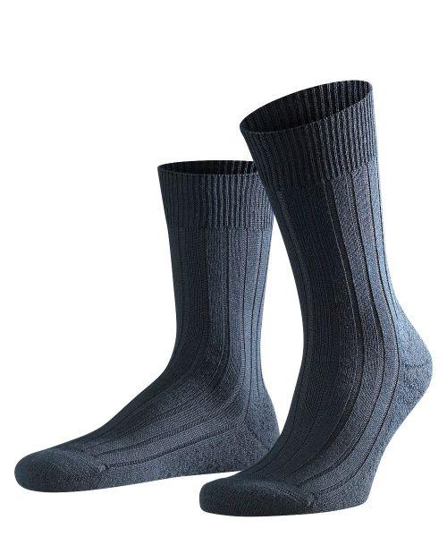 Sok Teppich im Schuh 14402 (Navy Blauw)
