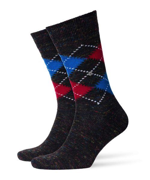 Burington Sok Tweed Argyle