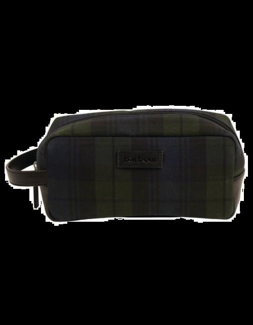 B Tartan Wash Bag (5924)