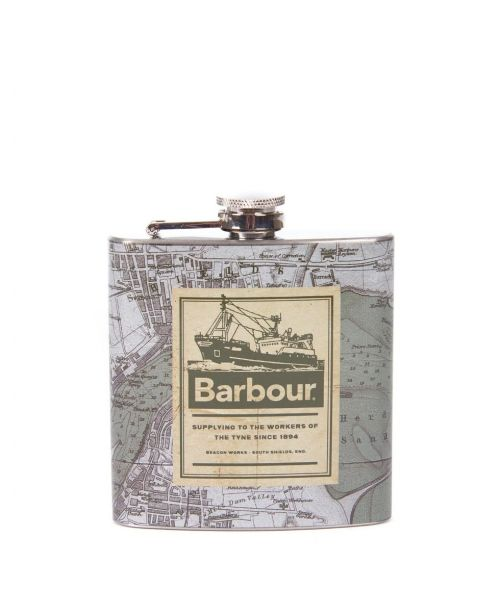 Barbour Hip Flask Archive Map