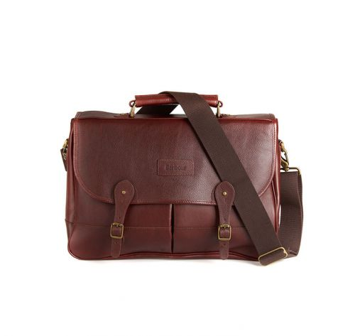 B Leather Briefcase(5048)